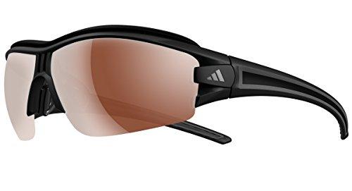 adidas Eyewear Evil Eye Halfrim Pro XS Schwarz, matt