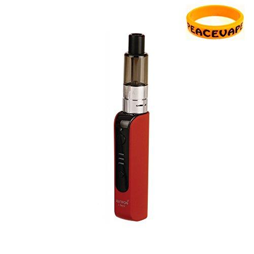 Justfog P16A kit di partenza 900 mAh (Rosso) sigaretta elettroniche Senza Nicotina con PEACEVAPE™ Vape Band