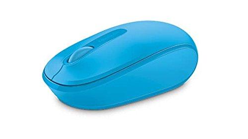 Microsoft Wireless Mobile Mouse 1850 (Maus, zyanblau, kabellos, für Rechts- und Linkshänder geeignet) (Trackball-maus Microsoft)