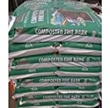 70 litre bag of RHS endorsed Melcourt Composted Fine bark - ideal for improving your soil