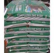 70 litre bag of RHS endorsed Melcourt Composted Fine bark