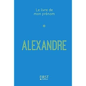 17 Le Livre de mon prénom - Alexandre