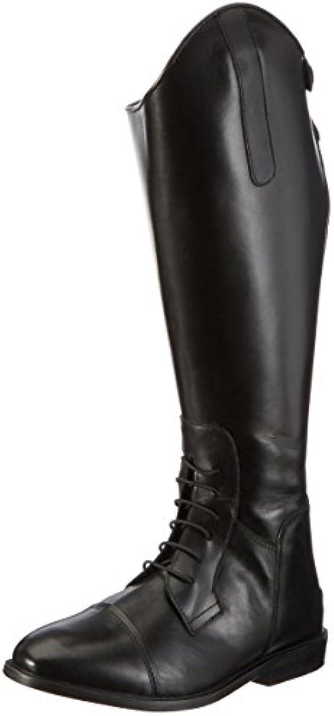 Hkm Botas de equitación Spain Soft Piel corta/Gran Negro negro Talla:39 UE  -