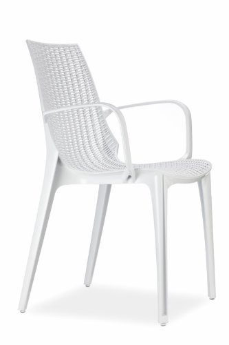 Chaise Tricot Scab Blanche