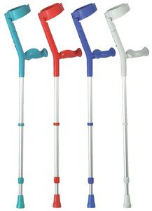 Patterson Medical Soft Grip Comfort Handle Crutches (Pack of 2)