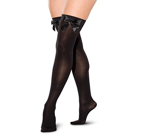 LADIES-THIGH-HIGH-OVER-THE-KNEE-BOW-STOCKINGS-FANCY-DRESS-COSTUME-HOLD-UP