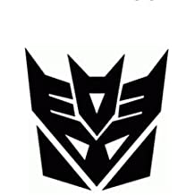 2x Transformers Autobot Logo adhesivo Aufkleber 10x 9,5cm Decepticon película bicicleta coche JDM Racing Tuning Dub VAG Bumper salpicadero para ordenador portátil