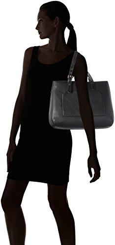 COCCINELLE EDIT DOUBLE SHOULDER BAG YF0110101 Nero (Black)