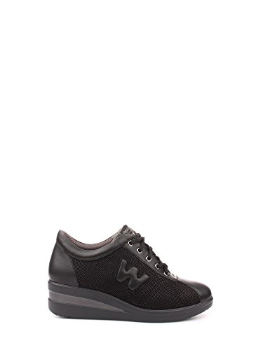 MELLUSO WALK R0815 scarpe donna sportive zeppa lacci comfort 41