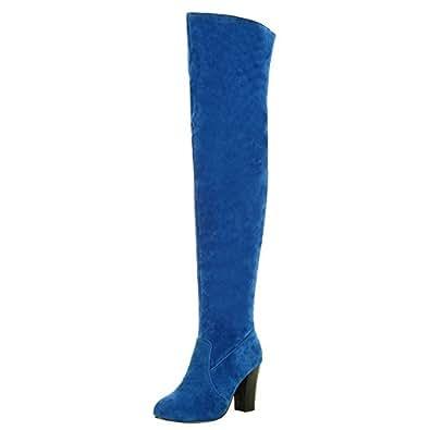 Misakinsa Chaussures Fermeture Eclair Femmes Bottes Half RrwHqvR1n