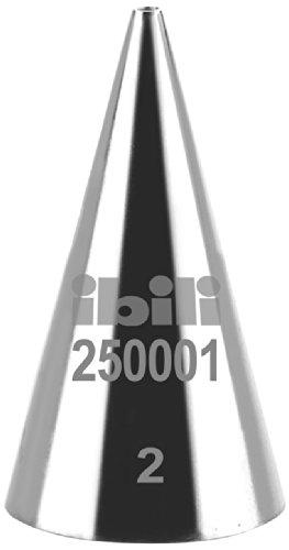 Ibili 250001 Tülle für Spritzbeutel, rund, 1 mm Round Rolling Pin