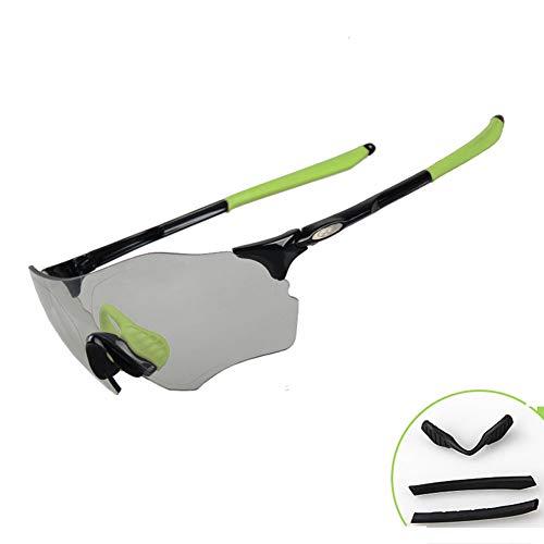 ZllSports Polarisierte Sonnenbrille Marathon Farbwechsel Brille Anti-Fog-reitbrille Winddicht Sand Uv400 Durable Outdoor Sportgeräte Brille,7