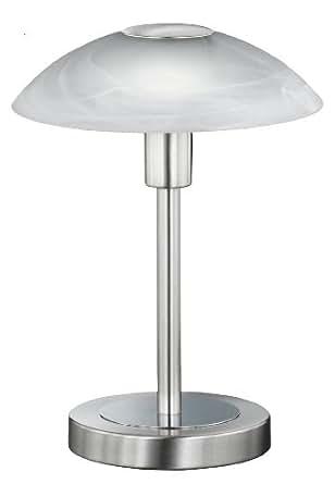 Wofi 8687.01.64.0260 Minster Lampe Touch H26 33 W G9 Nickel