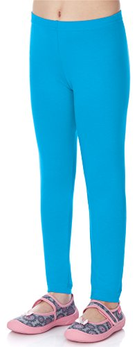 Merry Style Merry Style Mädchen Lange Leggings MS10-130 (Blau, 110)