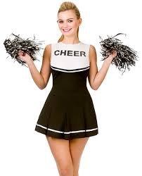 CHEERLEADER KOSTÜM IN 6 VERSCHIEDENEN FARBEN UND 4 VERSCHIEDENEN GRÖSSEN= VON ILOVEFANCYDRESS=DIE GRÖSSEN SIND ||XS-34 ||S- 34/36||M-38/40||L-42/44||MIT FARBLICH PASSENDEN (Cheerleader Usa Kostüm)