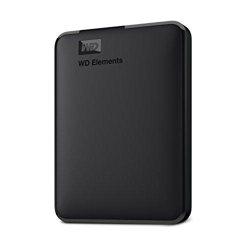 fernseher mit usb aufnahme WD Elements Portable, externe Festplatte - 1 TB - USB 3.0 - WDBUZG0010BBK-WESN