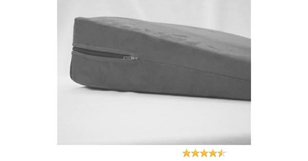 Orthop/ädisches Keilkissen aus Verbundschaumstoff 7cm stark mit Bezug aus Mircofaser
