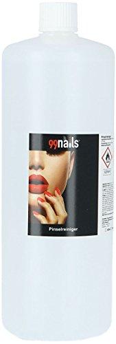 99nails Pinselreiniger 1er Pack (1 x 1000 ml) Entfernt Fiberglas Gel UV Acryl Aquarellfarben Cleaner Kosmetikpinsel Reinigung Pinsel Reiniger - Acryl Pinsel-reiniger