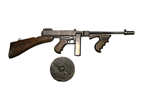 Andrew Chittock/Stocktrek Images - Thompson Model 1928 Submachine Gun with Drum Magazine. Photo Print (20,32 x 25,40 cm) (Gun M1 Airsoft)