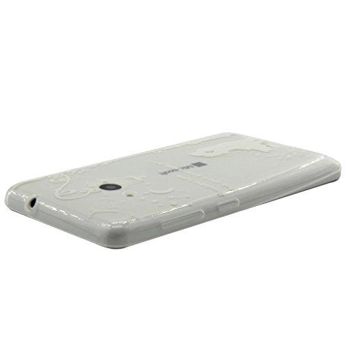 A9H iPhone 6 6S (4,7 Zoll) Hülle Case Handyhülle Schutzhülle Durchsichtig TPU Crystal Clear Case Backcover Bumper Schutzhülle Ultradünn Weich Flexibel Silikonhülle 04A 19A