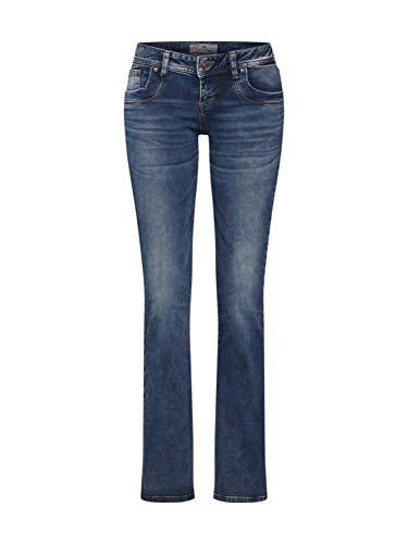 Basic Wash Jeans (LTB Jeans Damen Valerie Bootcut Jeans, Blau (Nome Wash 51895), W28/L30 (Herstellergröße: 28/30))