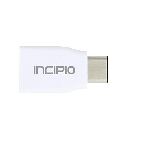 Incipio Super Slim Lade & Synchronisations Adapter (USB-C auf USB 3.0) für z.B. Apple MacBook (ab 09/2015), OnePlus3T, Samsung Galaxy A3/A5 (2017), Huawei P9, Google Pixel  -  PW-249-WHT Zen-video-format
