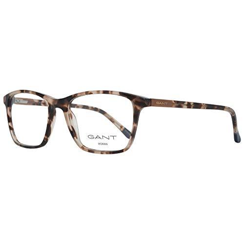 GANT Damen Brille Ga4079 54053 Brillengestelle, Braun, 54