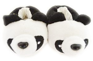 PANDA SLIPPERS FOR AMERICAN GIRL DOLLS AND BITTY TWINS