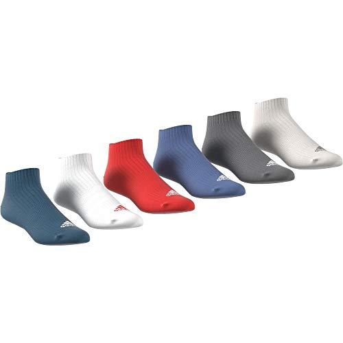 adidas cv8136Socken, Unisex Kinder S blau (azcere/weiß/roalre/azretr) -