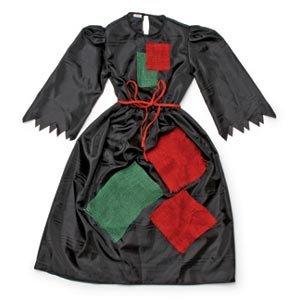 Unbekannt A & O 9530-Disfraz de Bruja, Color Negro