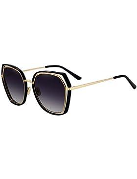 HAIYING Gafas De Sol Mujer Polarized Dark Glass - Bloqueo UV Lentes Polarizadas De Alta Calidad Y 100% Protección...