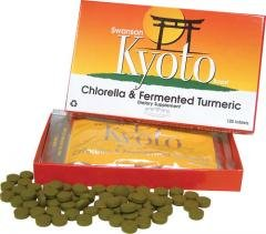 Swanson Kyoto Chlorella & Fermented Turmeric (120 Tablets) from Swanson Health Products
