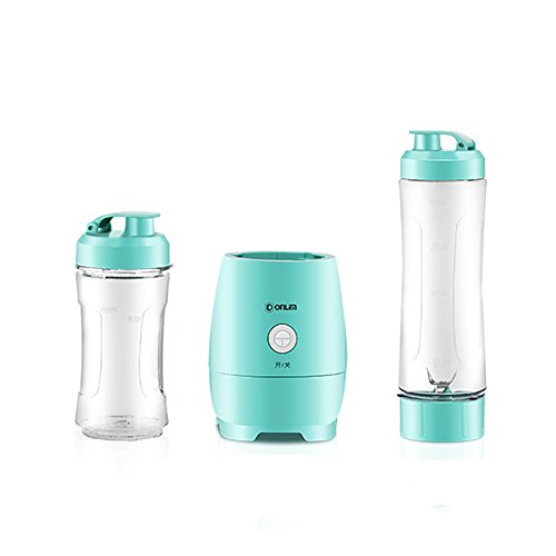 Personal/Blender/Mini/Travel/Juice/Cup, Electric/Fruit/Juice/Shakes/and/Smoothies/Blender/blue 600ml
