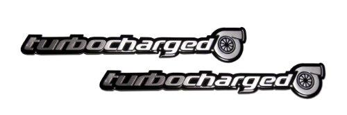 Rsx Honda Emblem (2 x (pair/Set) Turbo Turbocharged Aluminum Emblems Badges for Honda Civic Si Acura NSX TSX RDX RSX Type-S Subaru Impreza WRX Mazda Mazdaspeed 3 6 Nissan Sentra SER 300ZX 350Z Datsun 280ZX 280Z)