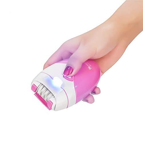 Körper Leuchten Beleuchtung Bikini (ZAZCB USB Wiederaufladbare Frauen Epilierer Körper Bein Haarentfernung Depilator Rasierer Weibliche Elektrische Rasierapparat Enthaarungsmaschine)