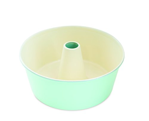 Nordic Ware 50918AMZ 12-Cup Angel Food Cake Pan, Mint -