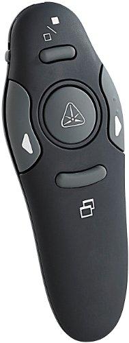 GeneralKeys Laserpointer Funkmaus: Funk Presenter mit Laserpointer und USB-Empfänger, rot Laser (Presenter mit Mausfunktion)