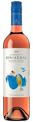 Memòries de Biniagual Rosat DO Binissalem 2015 - Bodega Biniagual   Roséwein   spanischer Wein von...