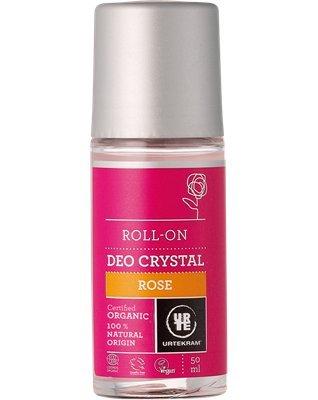 URTEKRAM - Natürliches Deo Crystal Roll-On Rose - Heile Haut