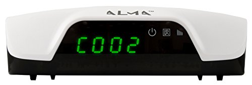 Alma DBTALH1126 Alma 2761 Full HD DVB-T2 Receiver H.264 with Display White