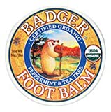 Badger Organic Peppermint and Tea Tree Foot Balm - Best Reviews Guide