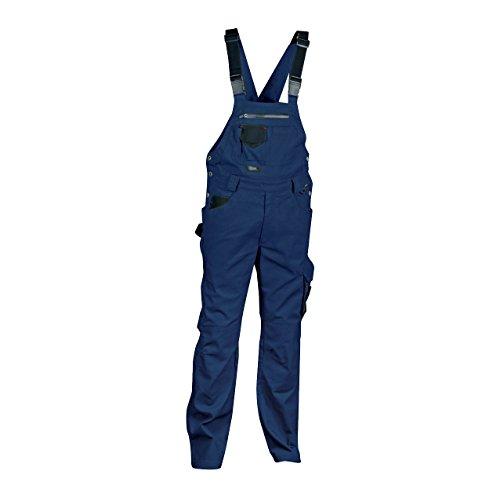 Cofra V000-0-02.Z54 Latzhose Pocket, Marineblau / Schwarz, Größe 54