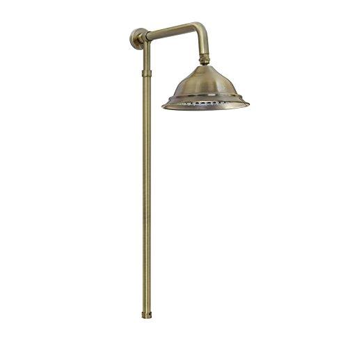 Polish Pfeife (Enki starr Dusche Riser Kit Bell Design Kopf 200Viktorianisch Antik Bronze Pura)