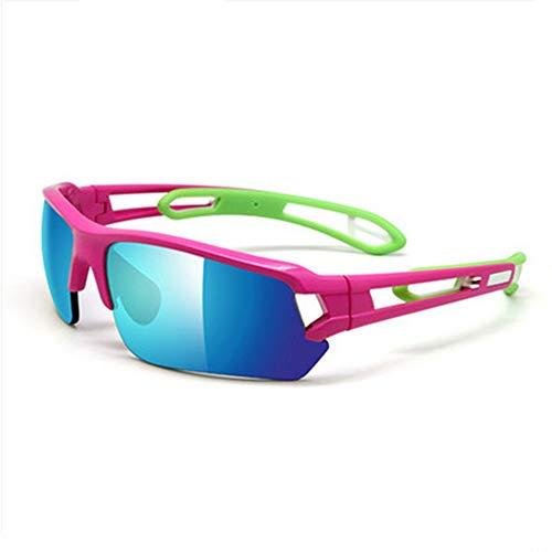 Standard Edition Radsportbrillen mit winddichter Laufbrille können die Beine blau-rot verändern