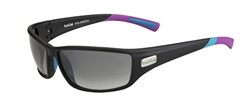 bollé Erwachsene Python Sonnenbrille, Matt Grey/Purple, Medium