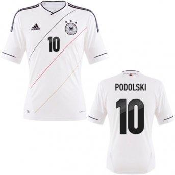 Adidas DFB Trikot Home Podolski EM 2012 Herren XXXL - 64 (Euro-2012-trikot)