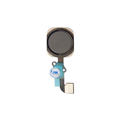 gsm-company*de Home Button + Homebutton Flex Kabel Knopf Taste Cable für Apple iPhone 6 Schwarz NEU # itreu Gsm-iphone