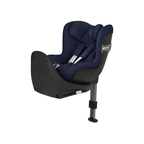 CYBEX Gold Sirona S i-Size Car Seat with 360° Swivel Mechanism and ISOFIX, From Birth to approx. 4 Years, Up to Max. 105 cm Height, Indigo Blue  Columbus Trading Partners GmbH & Co. KG (formerly Cybex)
