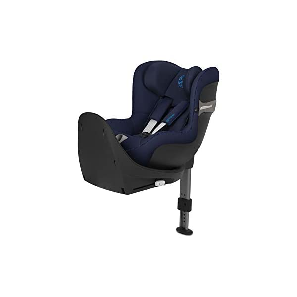 CYBEX Gold Sirona S i-Size Car Seat with 360° Swivel Mechanism and ISOFIX, From Birth to approx. 4 Years, Up to Max. 105 cm Height, Indigo Blue Cybex  1
