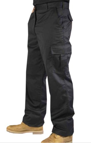 mens-cargo-combat-work-trousers-sizes-28-52-workwear-pants-30w-31-reg-leg-black